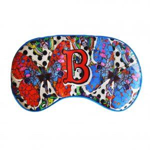 "Silk Eye Mask / ""B for Butterfly"""