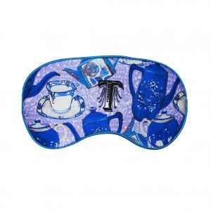 "Silk Eye Mask / ""T for Teapot"""