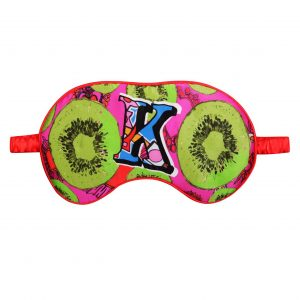 "Silk Eye Mask / ""K for Kiwi"""
