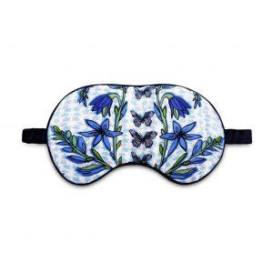 Silk Eye Mask / ''Folk Butterfly''