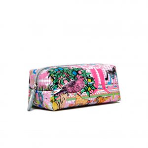 Mini Make Up Bag / ''Okapi Happy""
