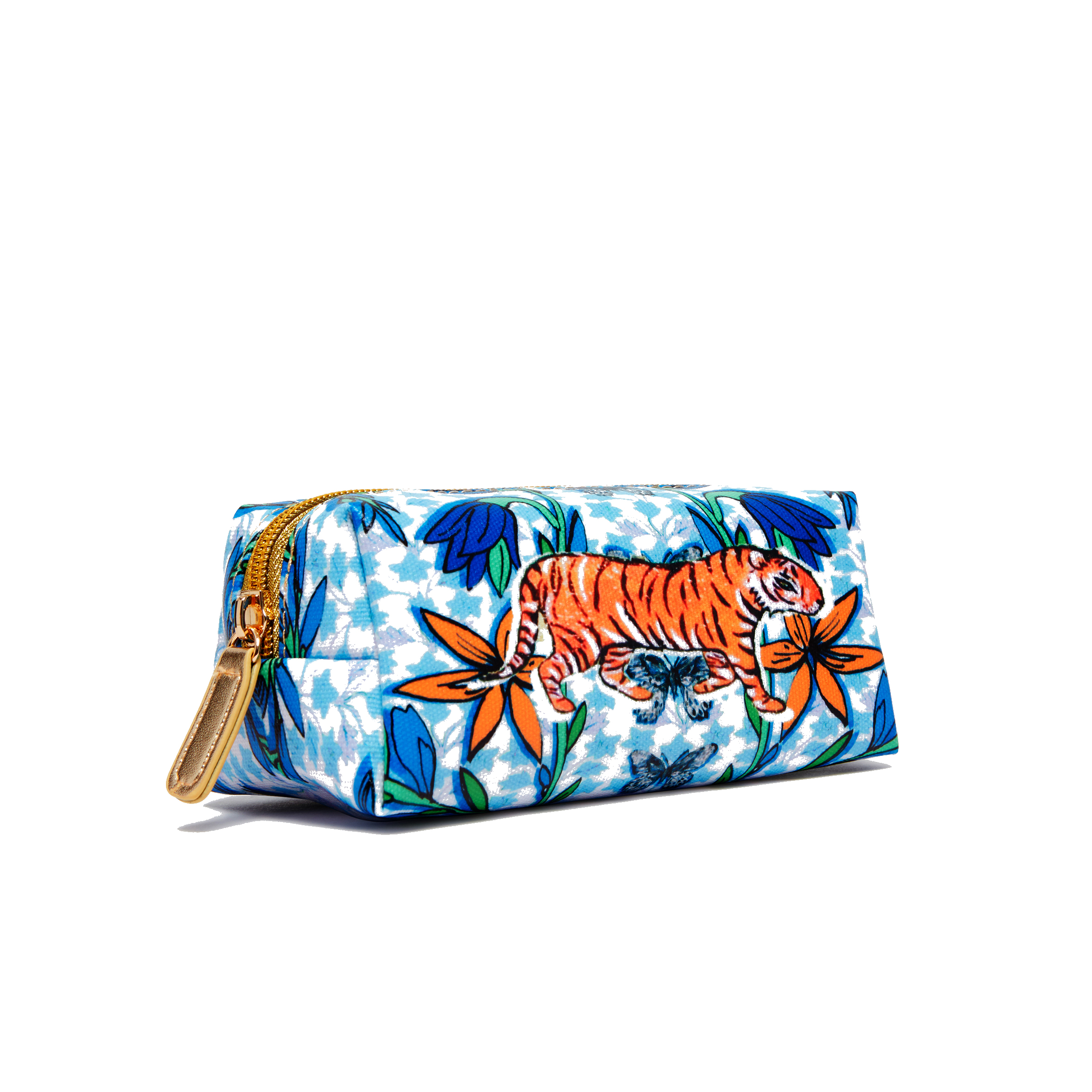 Mini Make Up Bag / ''The Mexican Tiger''