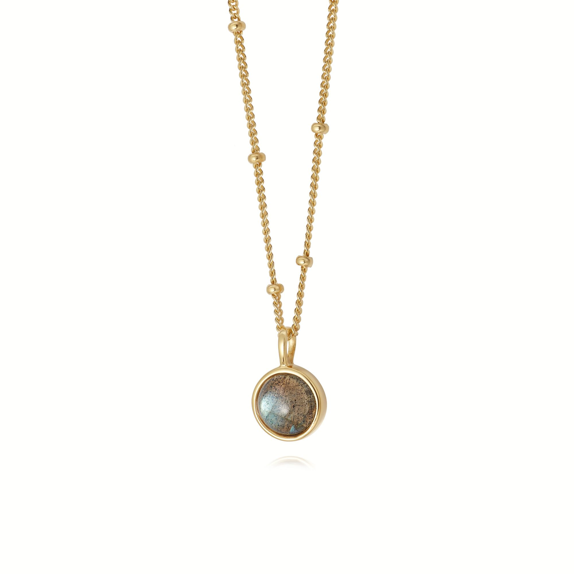 LABRODORITE HEALING NECKLACE GOLD