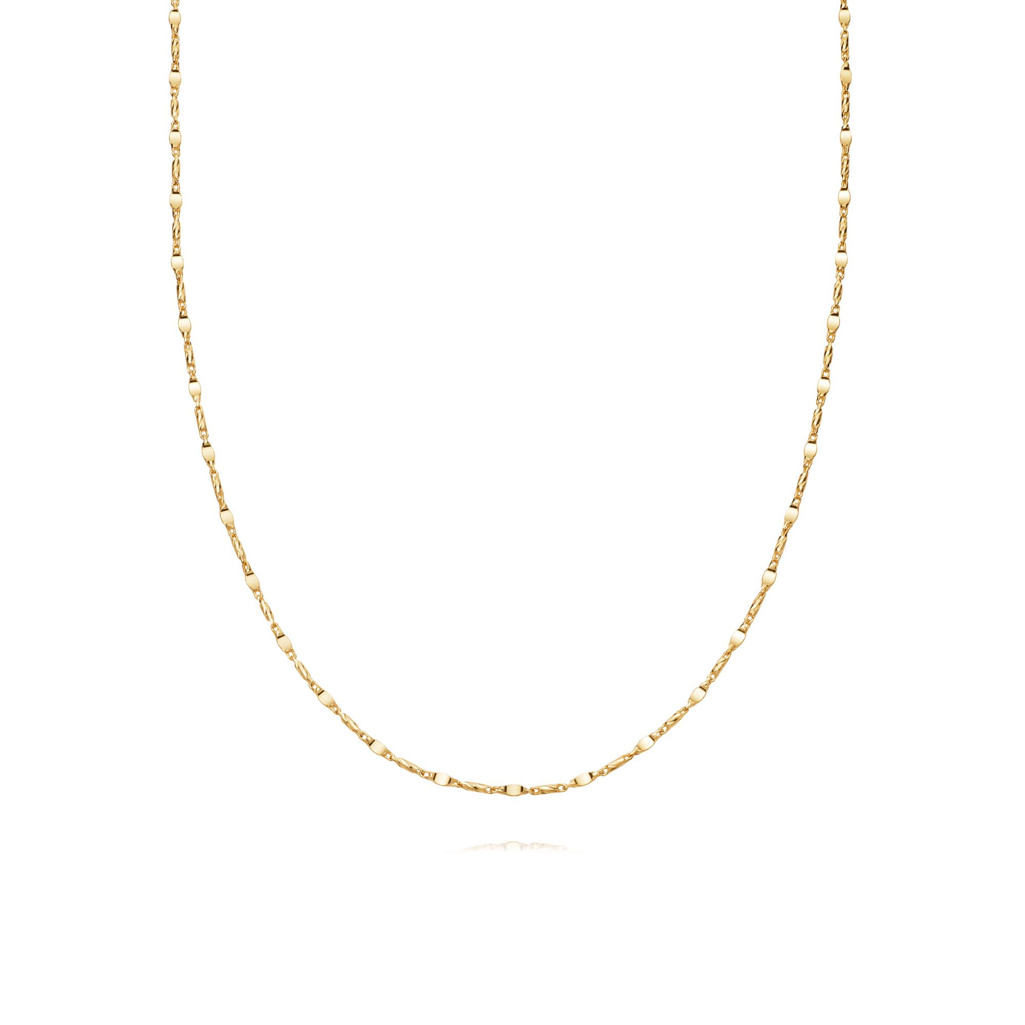 TIDAL TWIST NECKLACE  GOLD