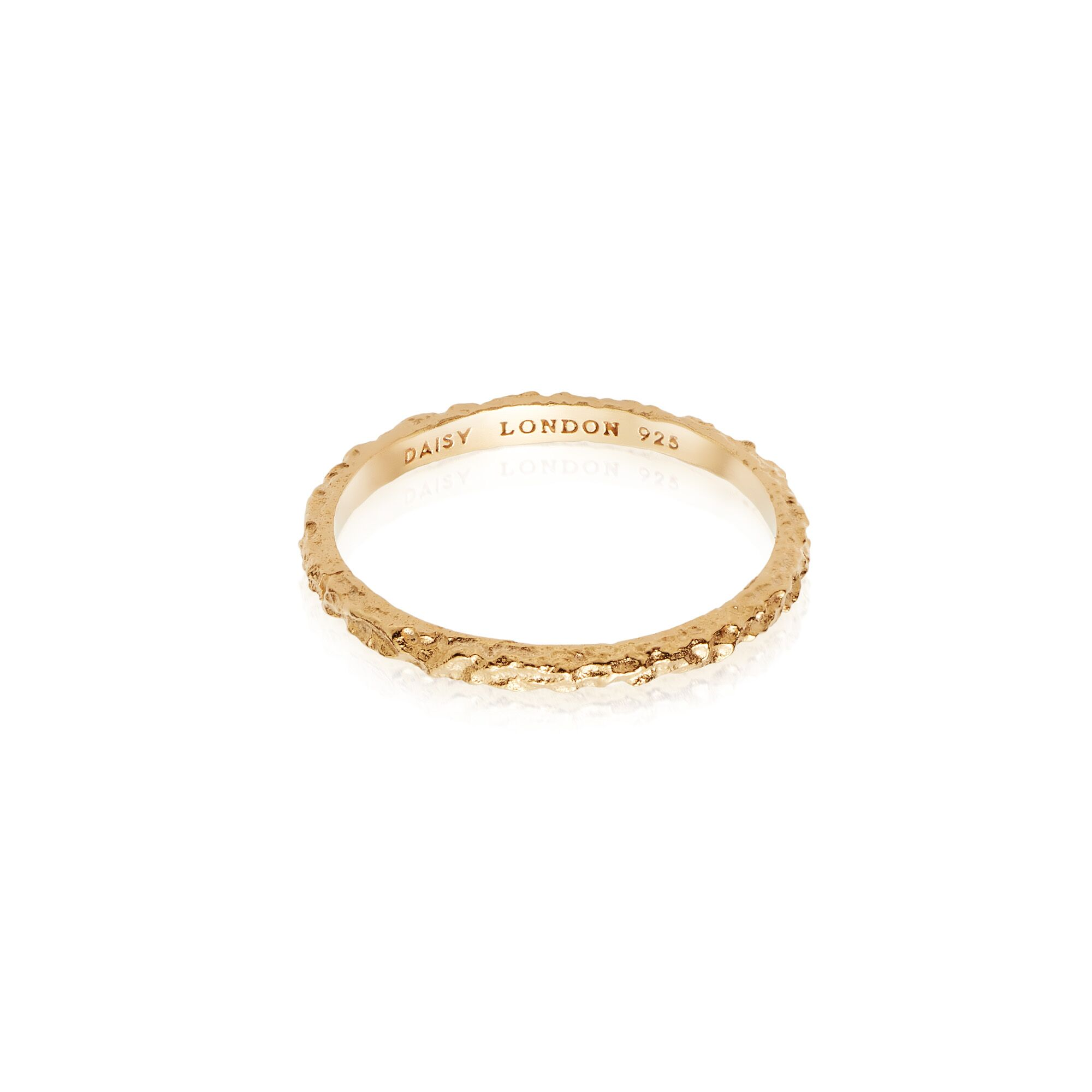 CORAL STACKING RING  GOLD
