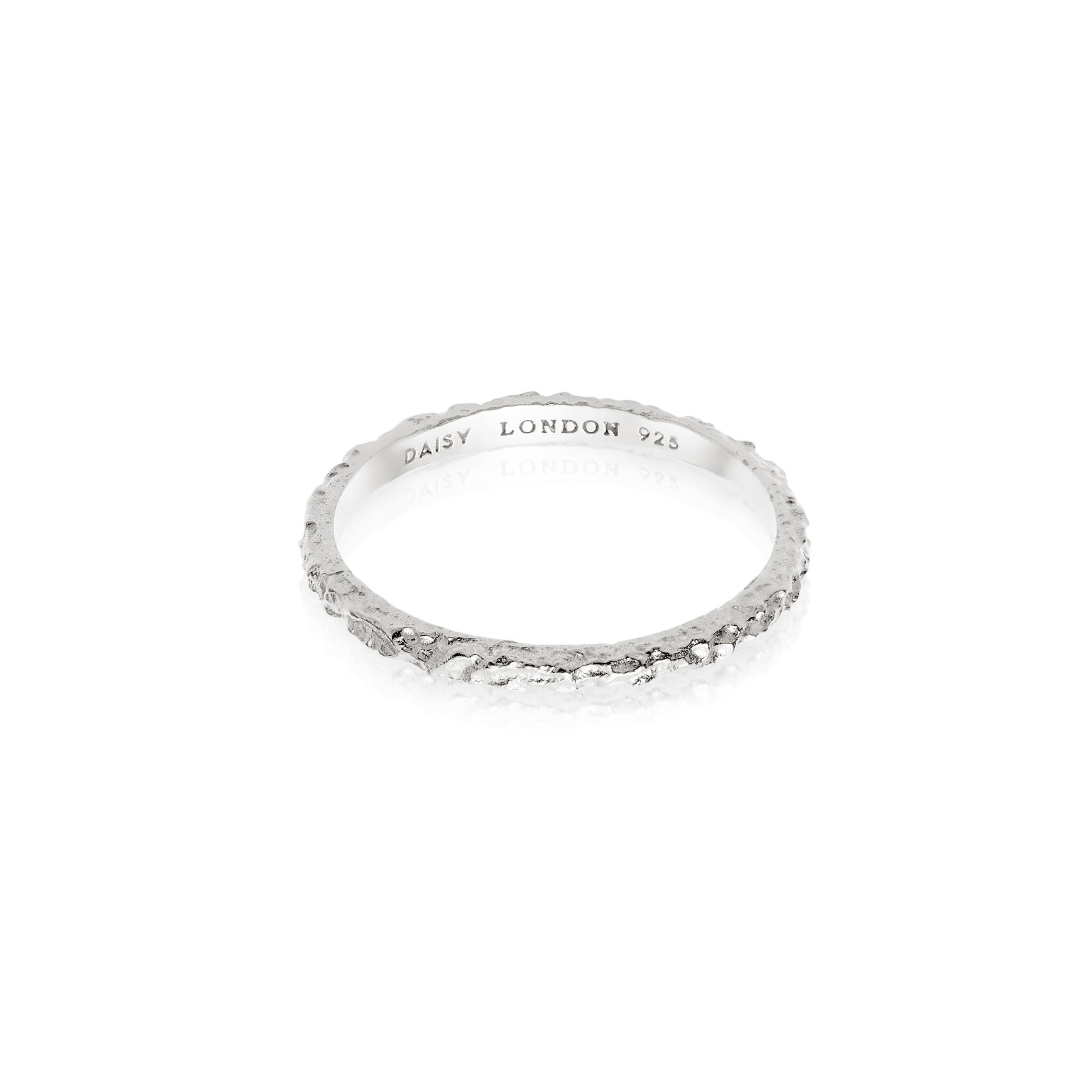 Isla Coral Stacking Ring Sterling Silver