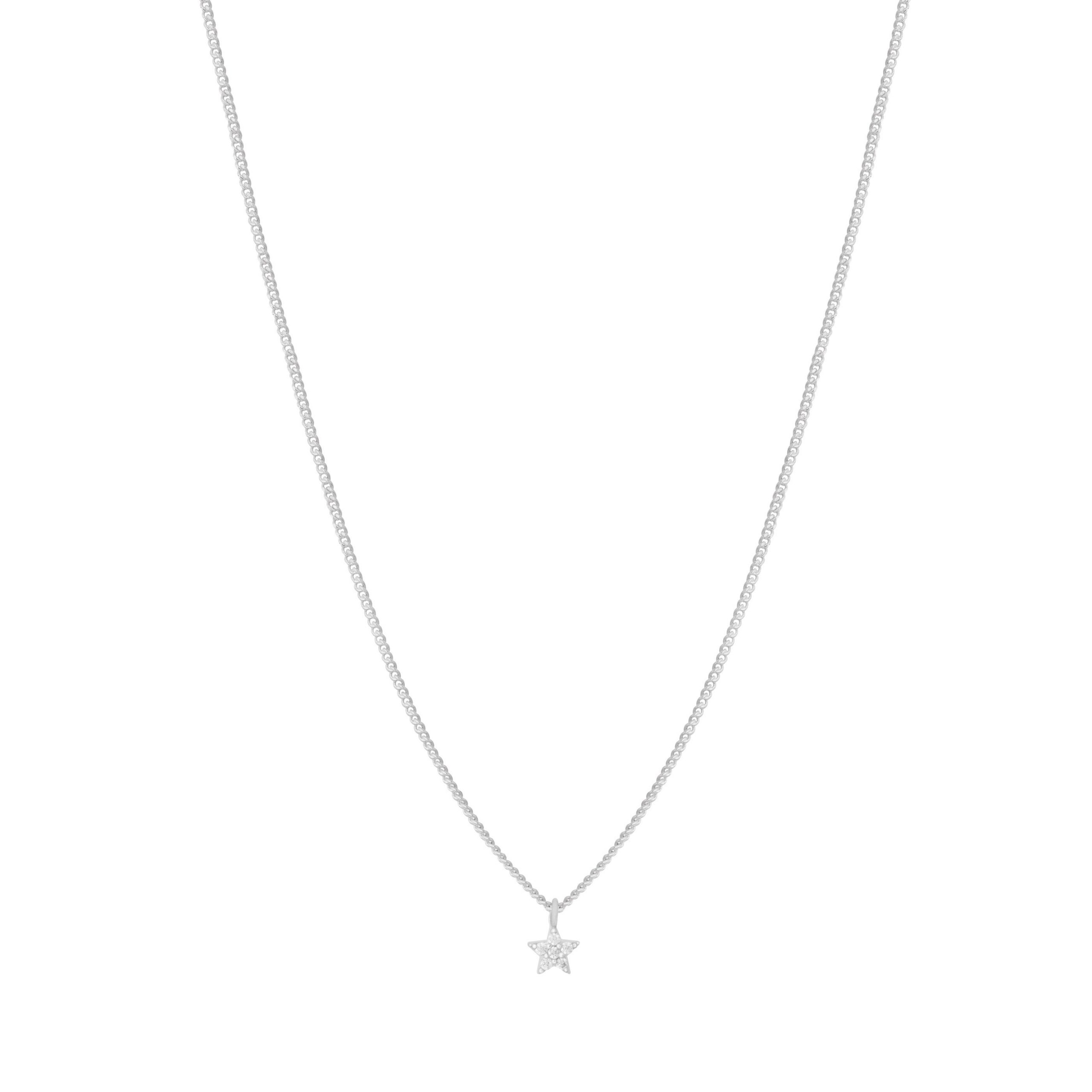 MYSTIC STAR NECKLACE SILVER