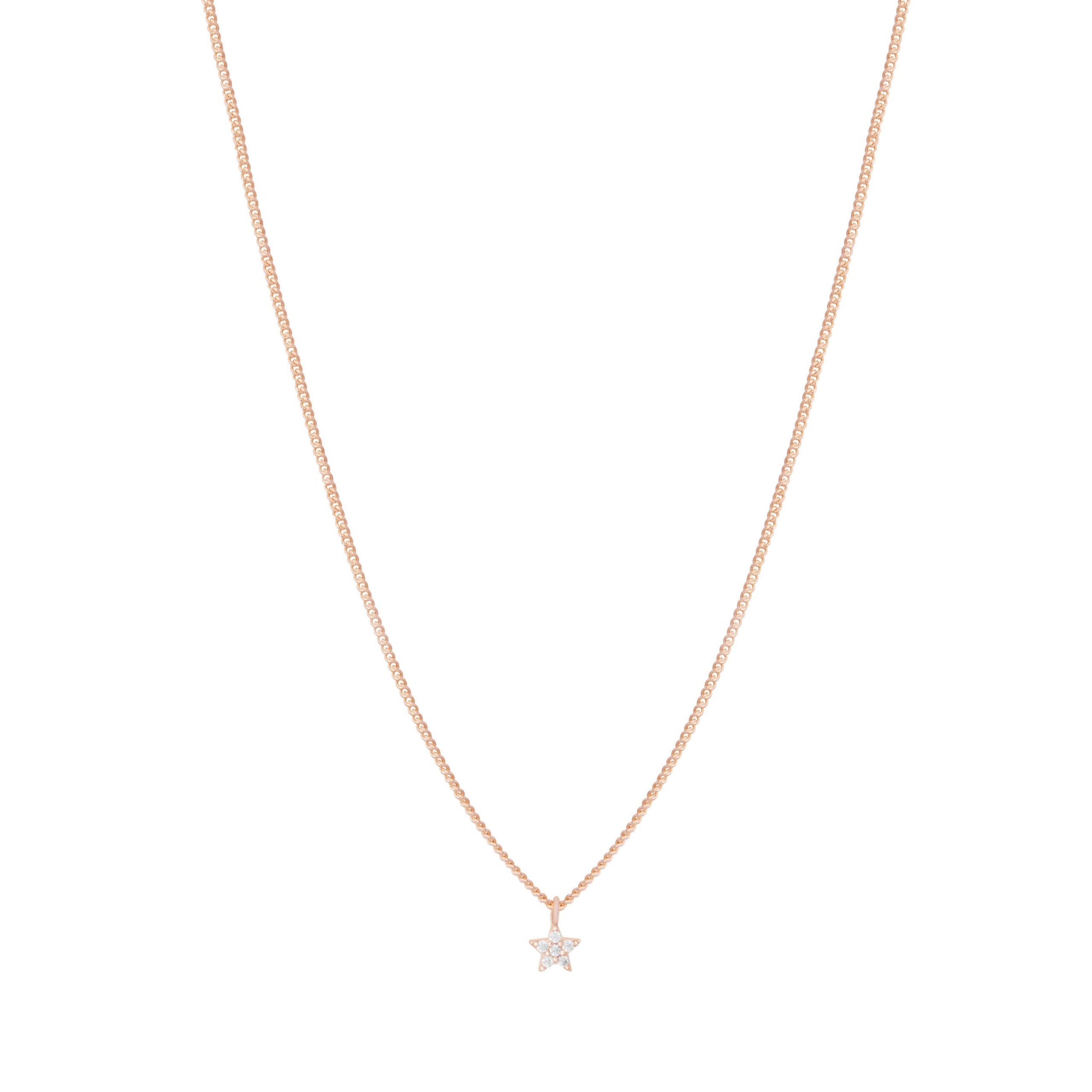 MYSTIC STAR NECKLACE ROSE GOLD