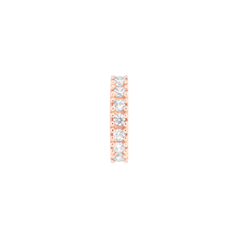 JEWELLED CLICKER ROSE GOLD