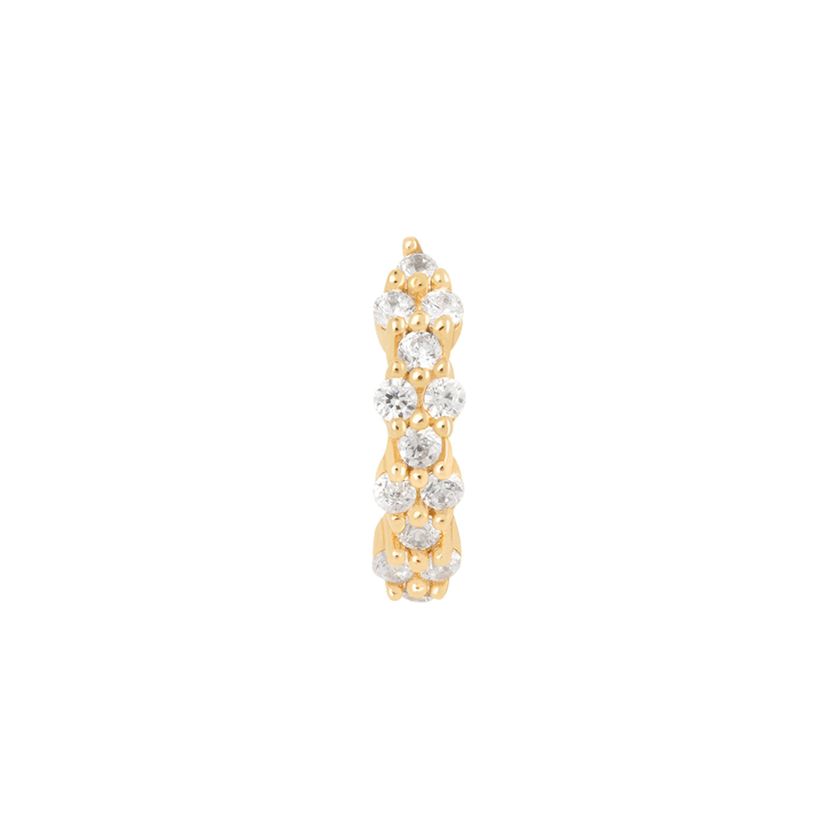 DAINTY CRYSTAL CLICKER GOLD
