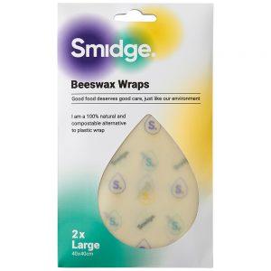 2 PIECE BEESWAX  WRAP SET - LARGE