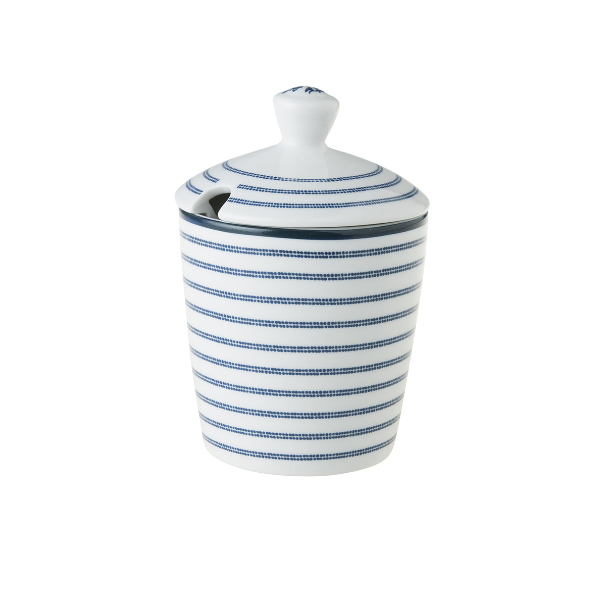 CANDY STRIPE SUGAR BOWL
