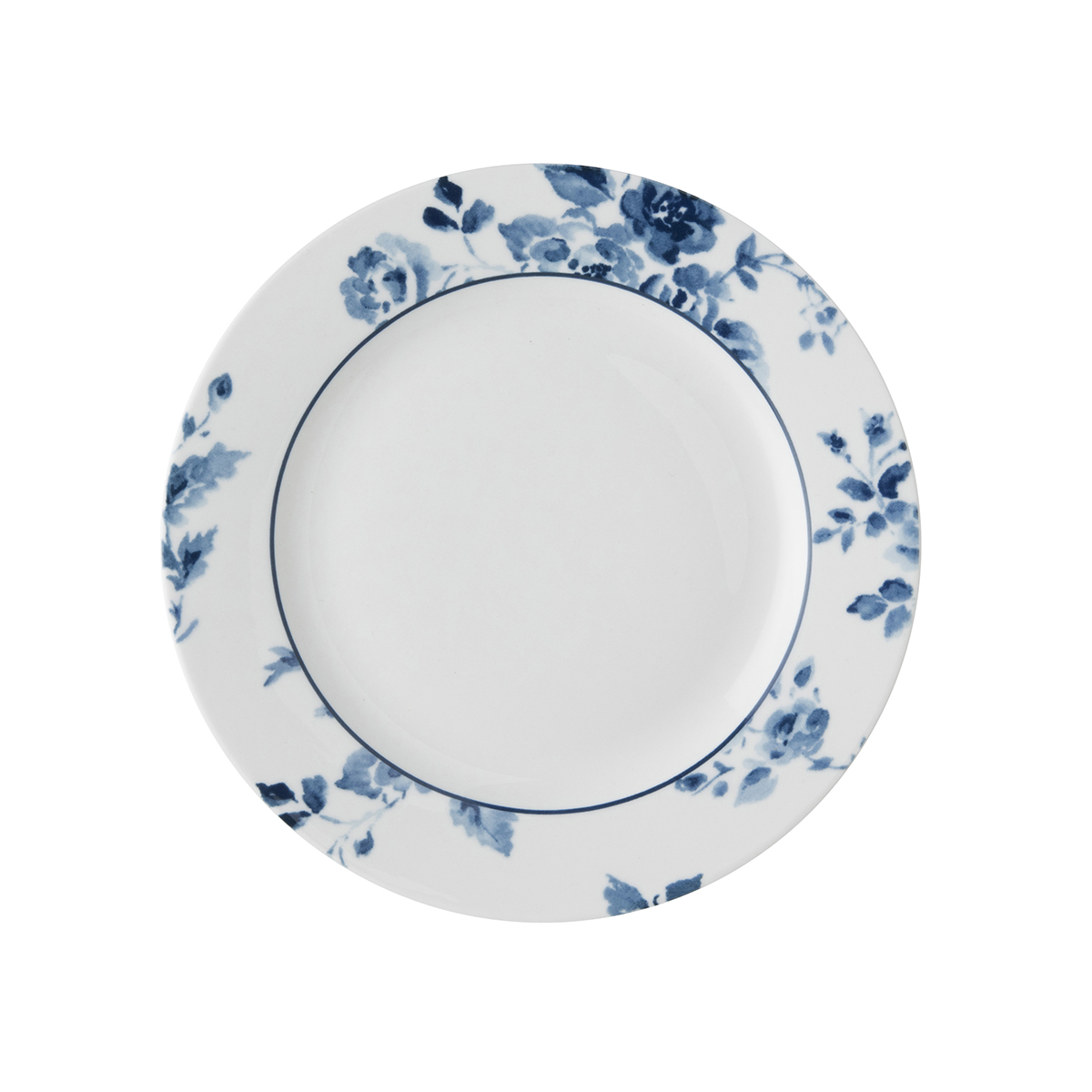 CHINA ROSE PLATE 18cm