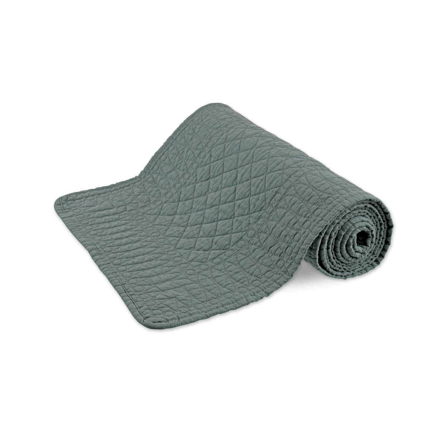 SIGNATURE COLLECTION SEA GREEN TABLE RUNNER
