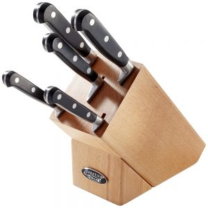 5 PIECE KNIFE BLOCK