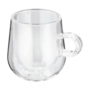 DOUBLE WALLED LATTE GLASS
