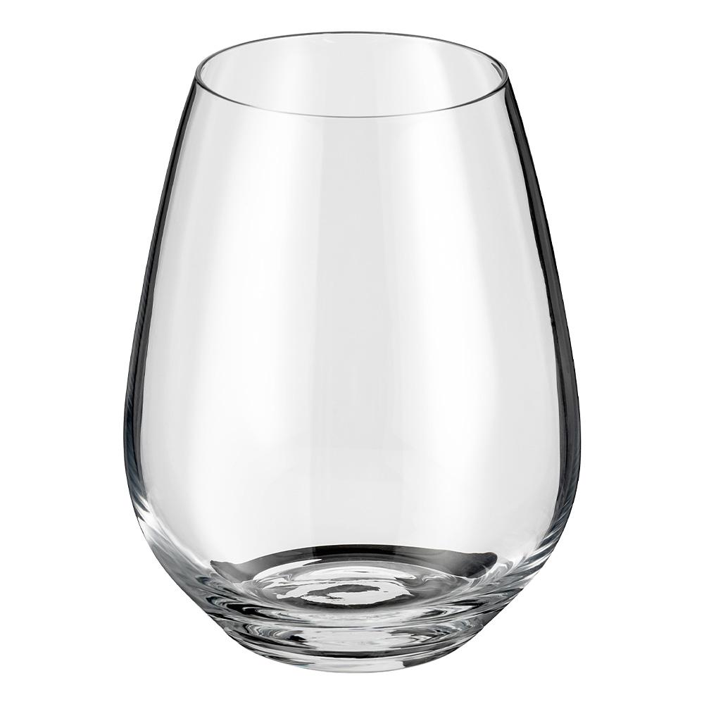 STEMLESS WINE GLASS SET 4 PIECE 400ml