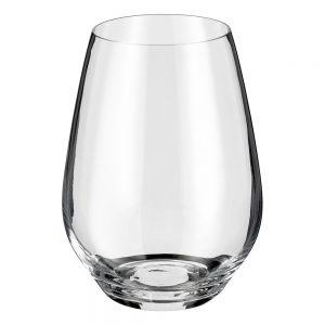 STEMLESS WINE GLASS SET 4 PIECE 540ml