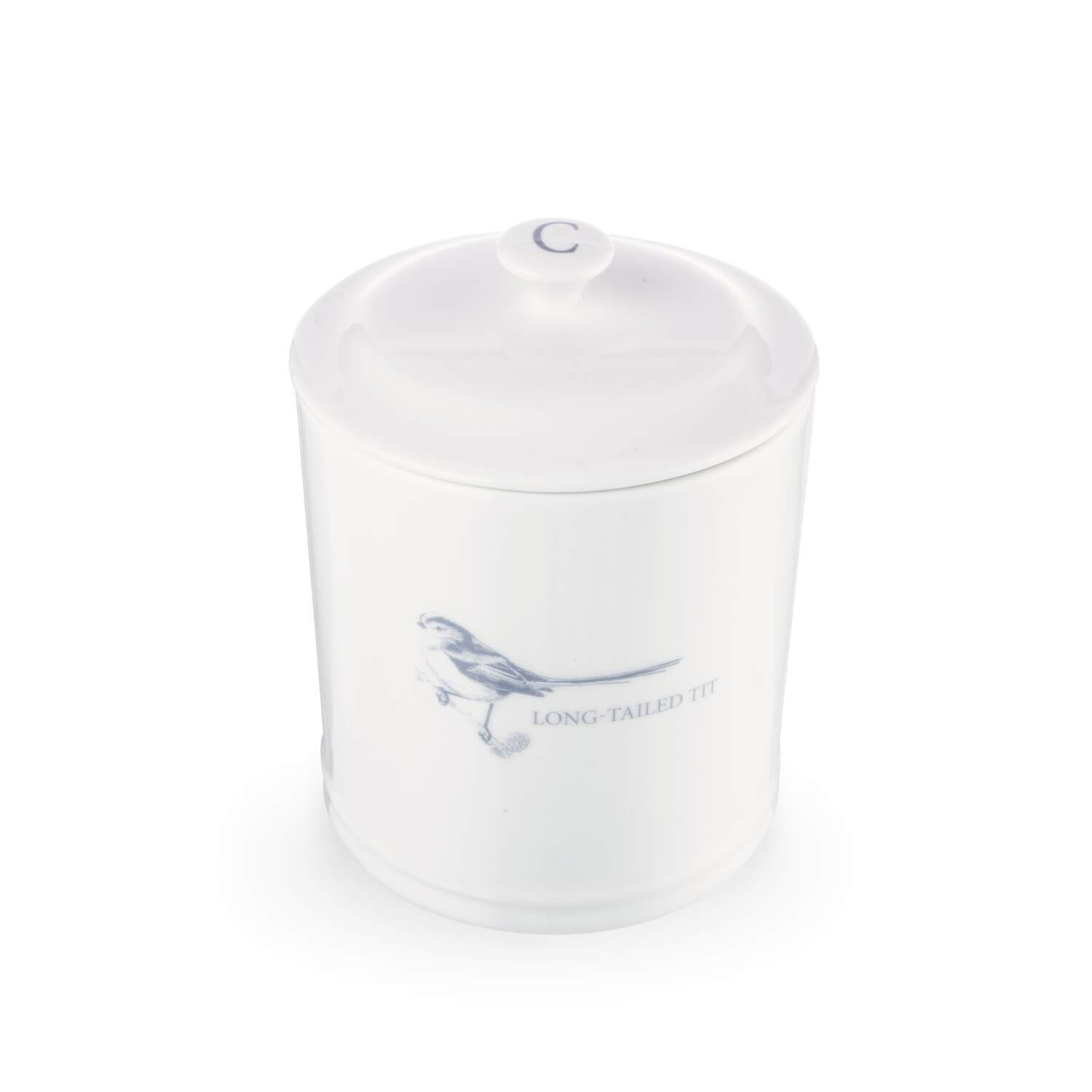 GARDEN COLLECTION LONG TAILED TIT COFFEE CANISTER