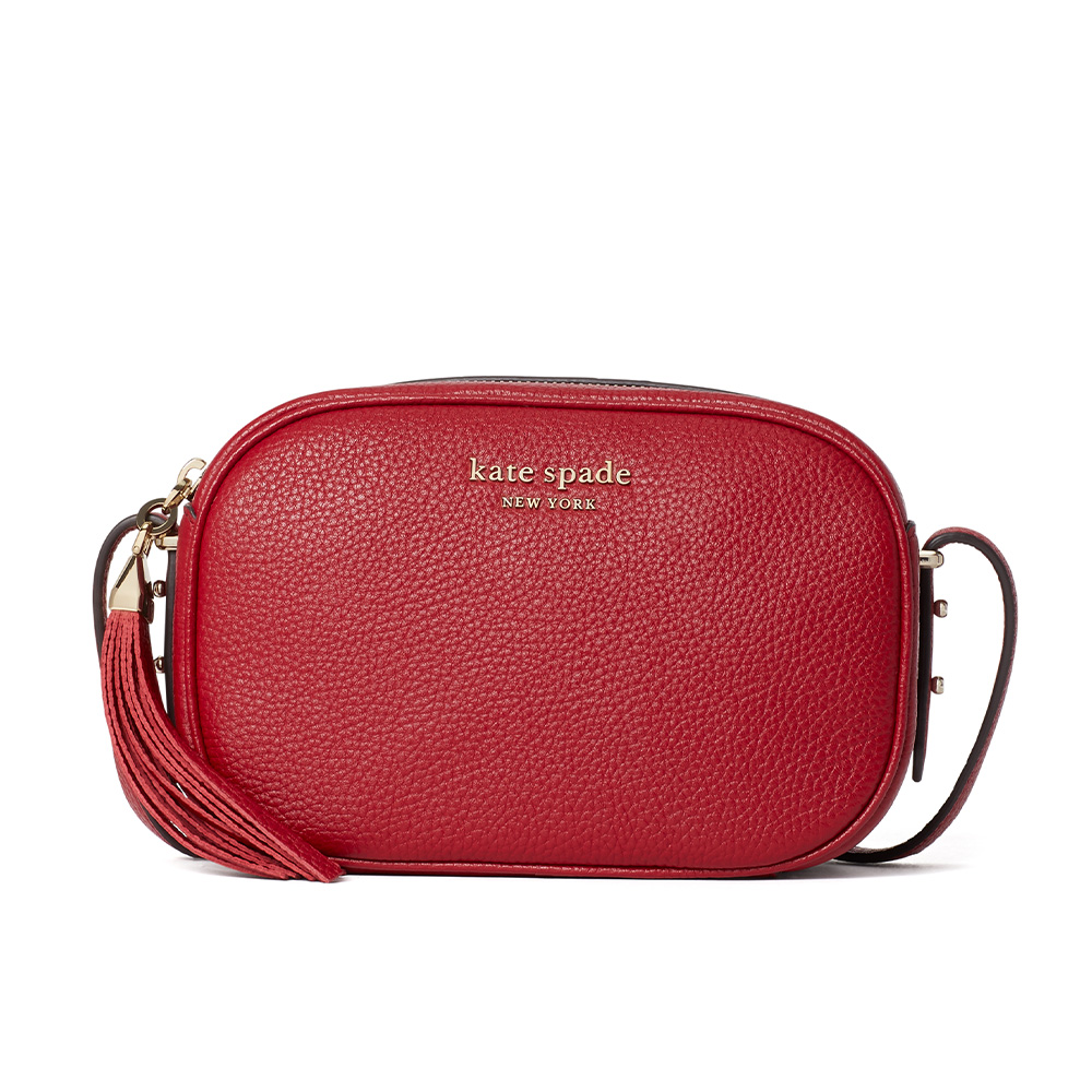 ANNABEL MEDIUM CAMERA BAG RED CURRENT