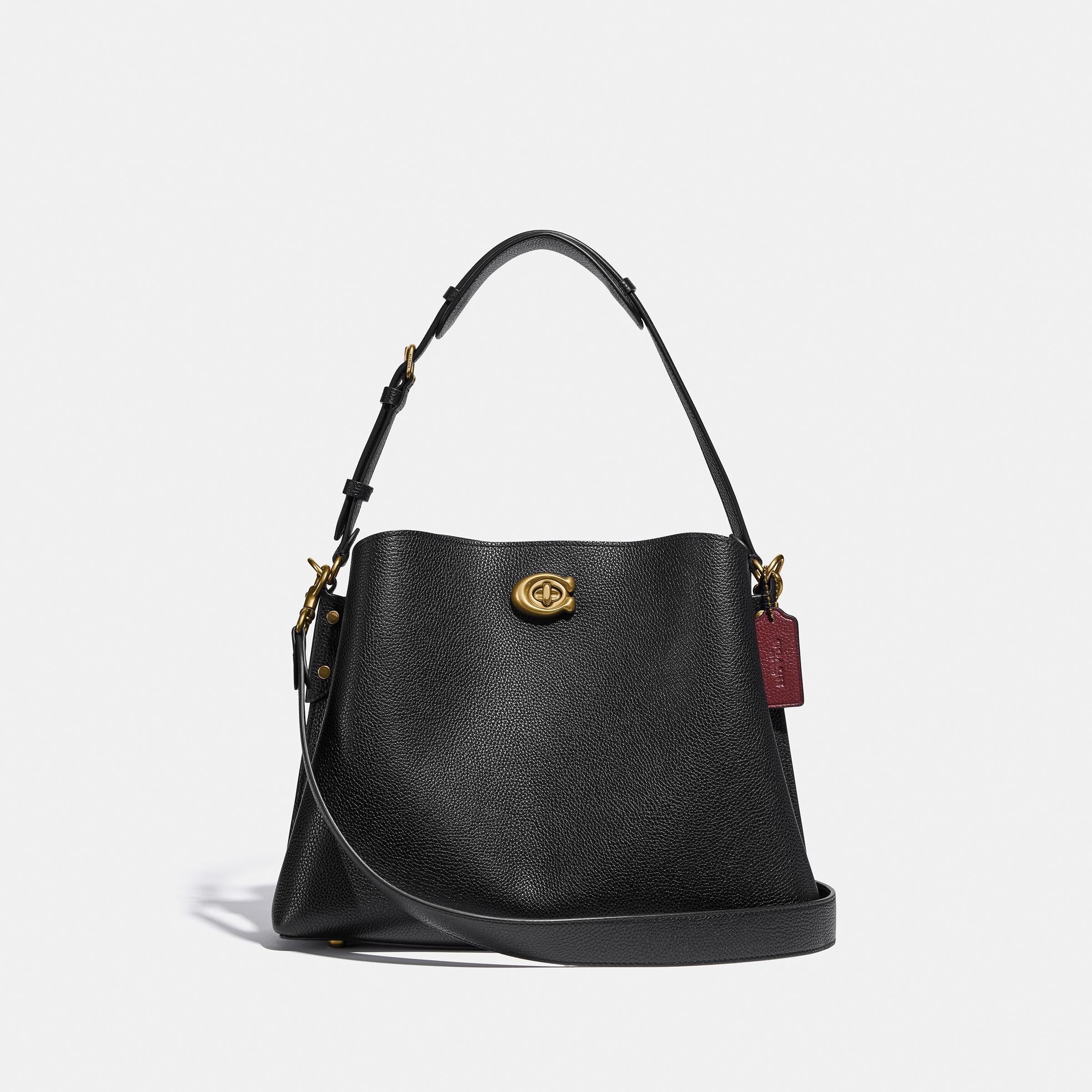 WILLOW SHOULDER BAG BLACK