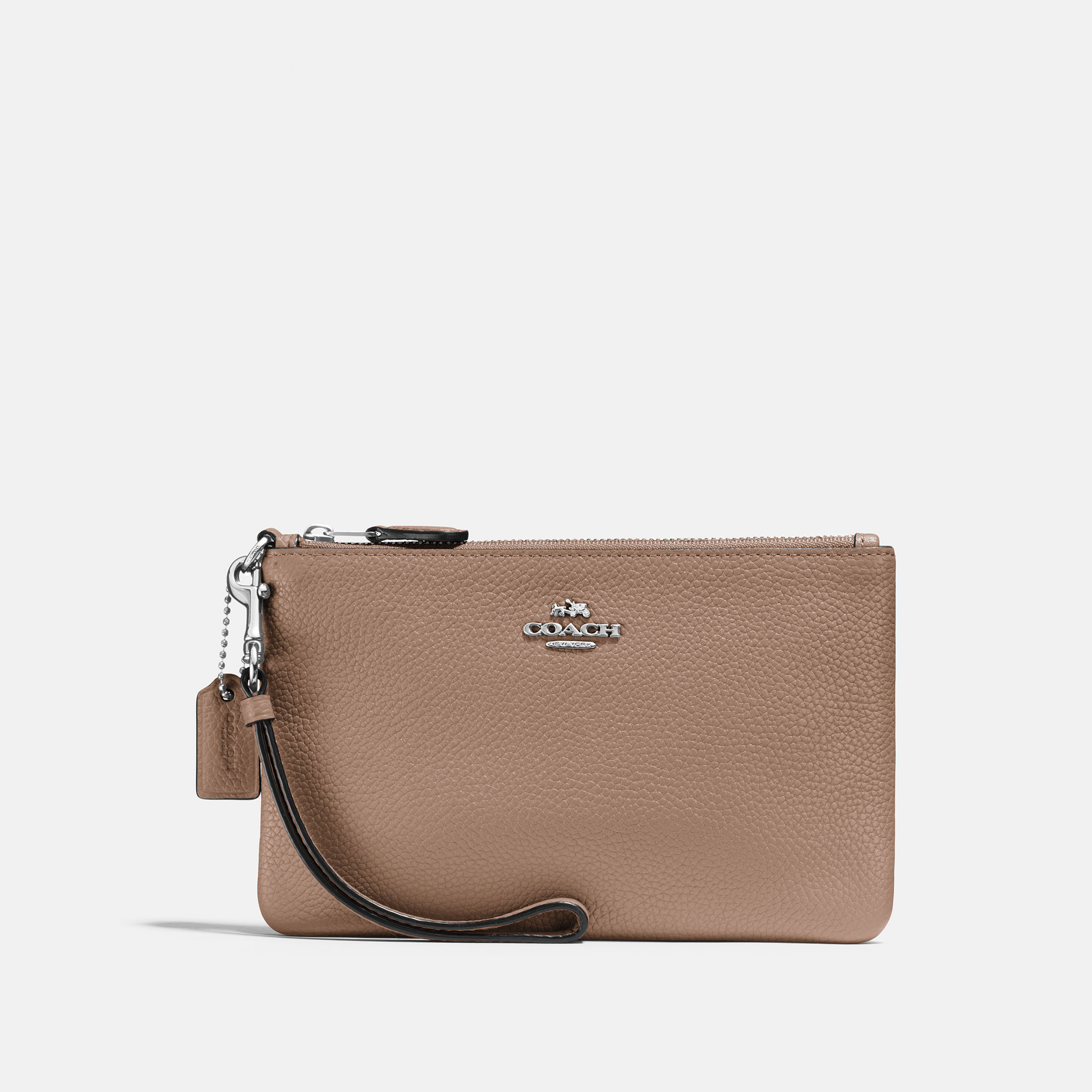 SMALL WRISTLET TAUPE