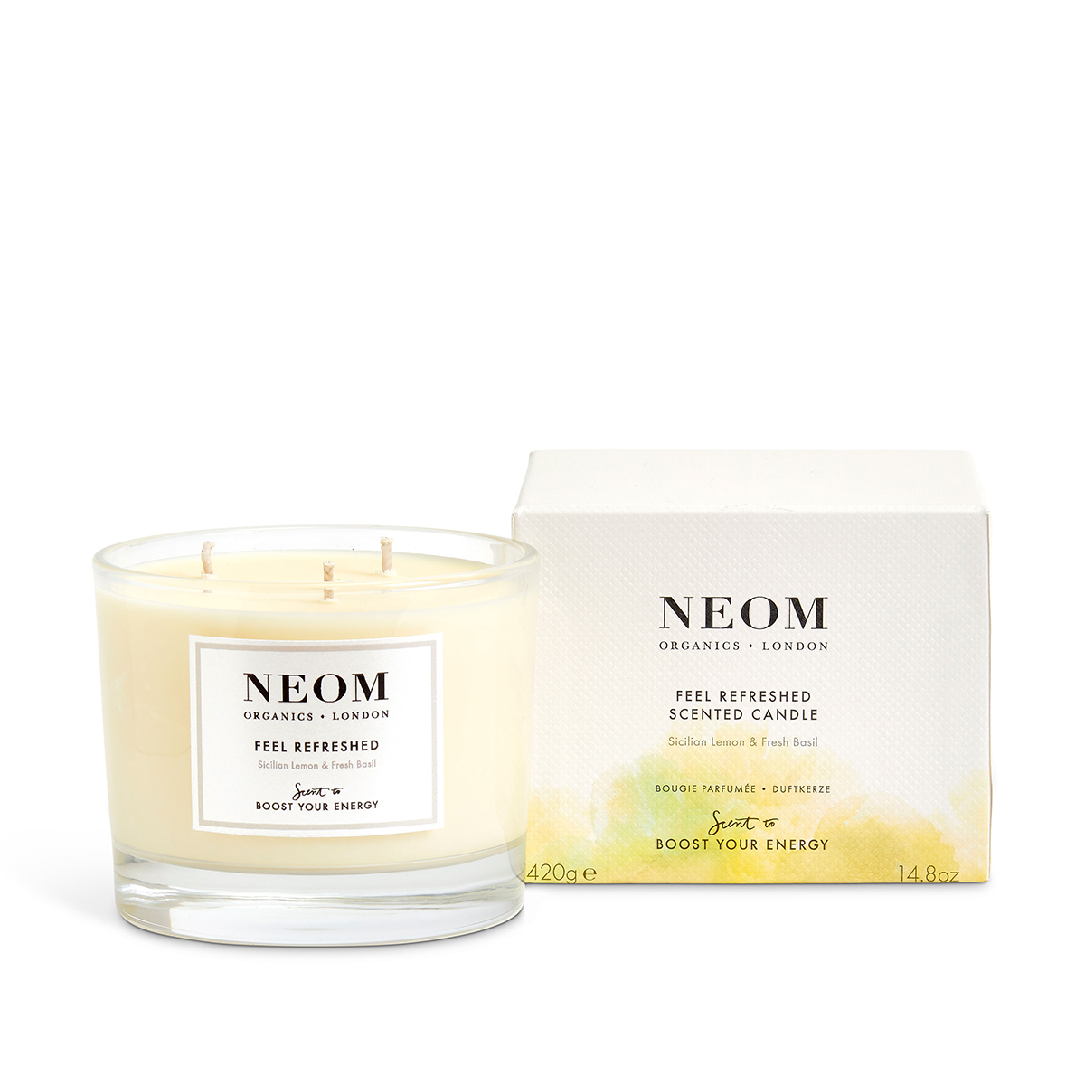 FEEL REFRESHED SCENTED CANDLE (3 WICK)