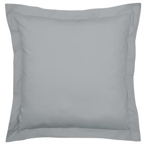 200TC PIMA COTTON SQUARE OXFORD PILLOWCASE SINGLE GREY