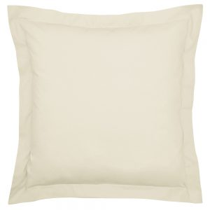 200TC PIMA COTTON SQUARE OXFORD PILLOWCASE SINGLE CASHMERE