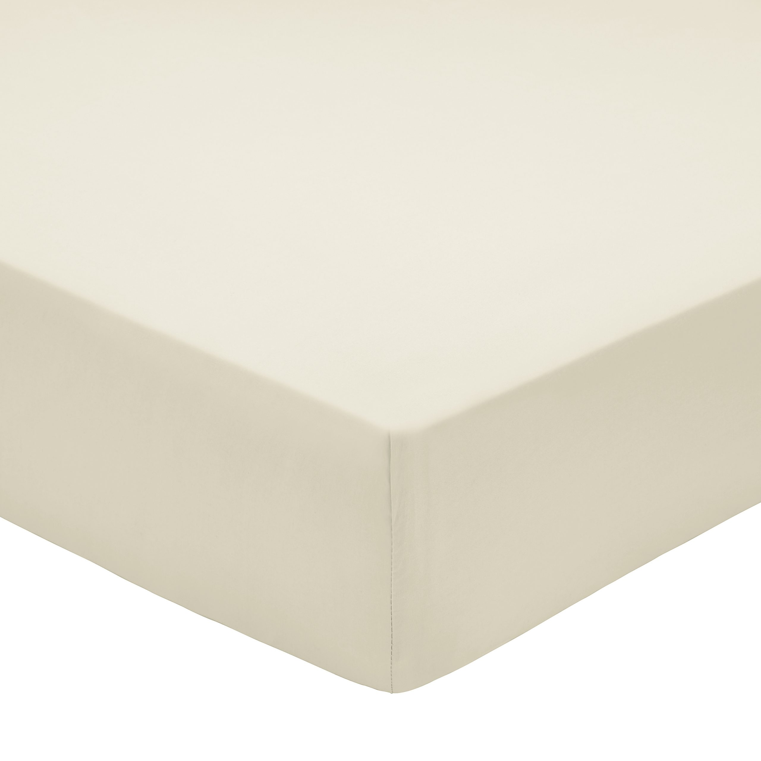 200TC PIMA COTTON FITTED SHEET KING SIZE CASHMERE