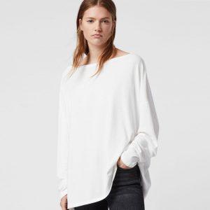 RITA LONG SLEEVE T-SHIRT - WHITE