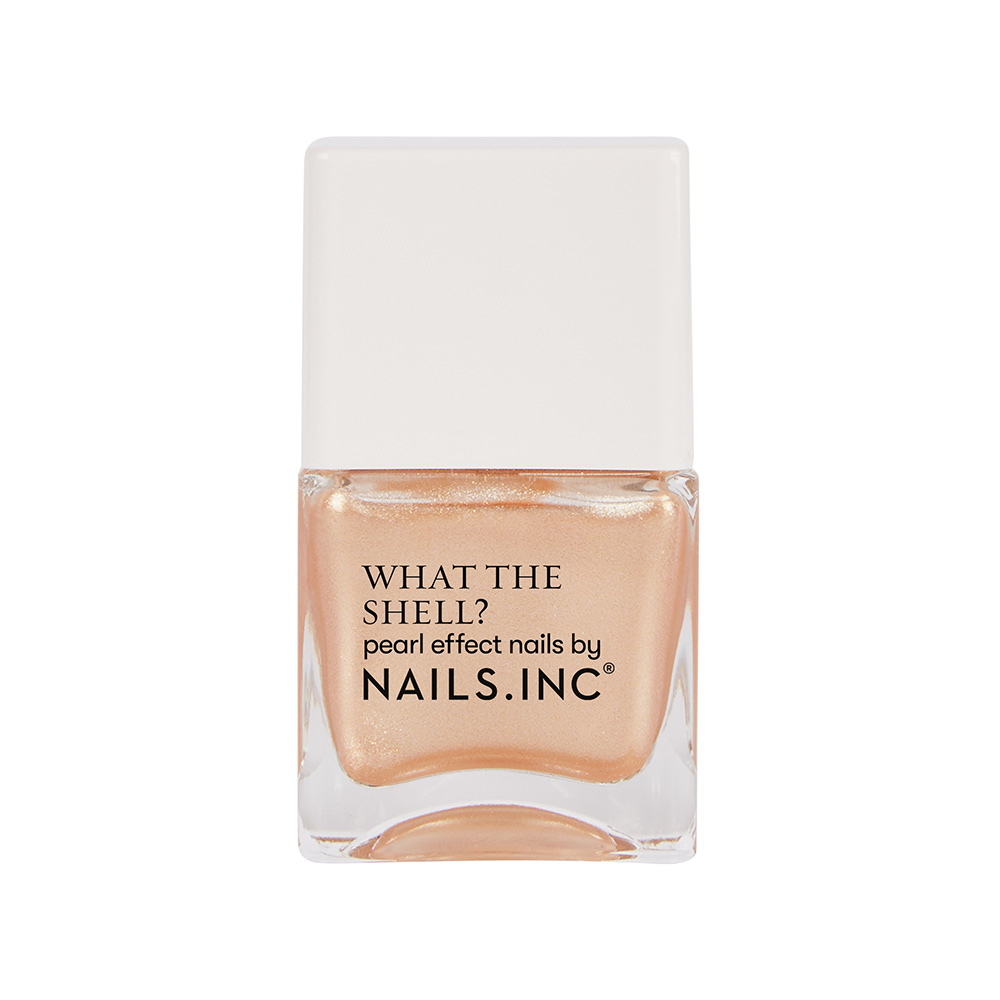 CALL ME ON YOUR SHELL PHONE PEARLESCENT NAIL POLISH