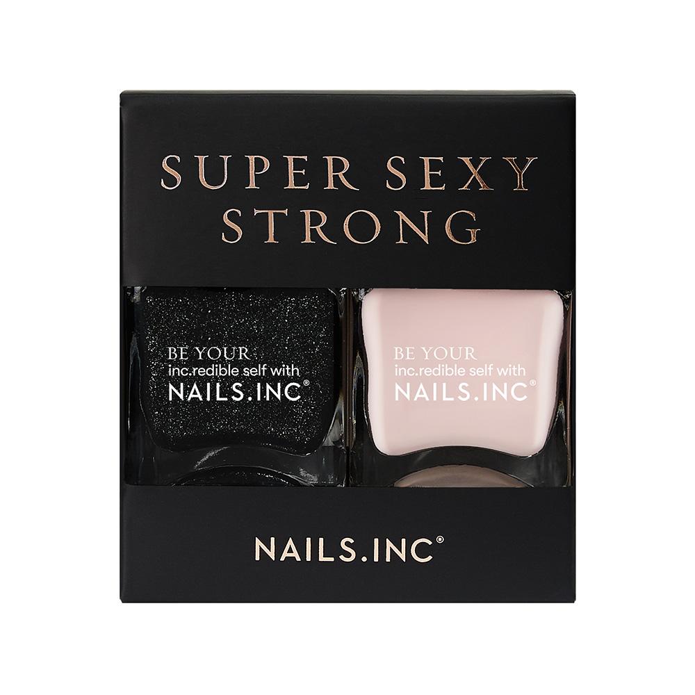 SUPER SEXY STRONG NAIL POLISH DUO