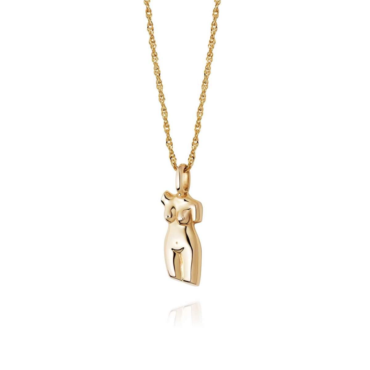 VITA NECKLACE - 18CT GOLD PLATE