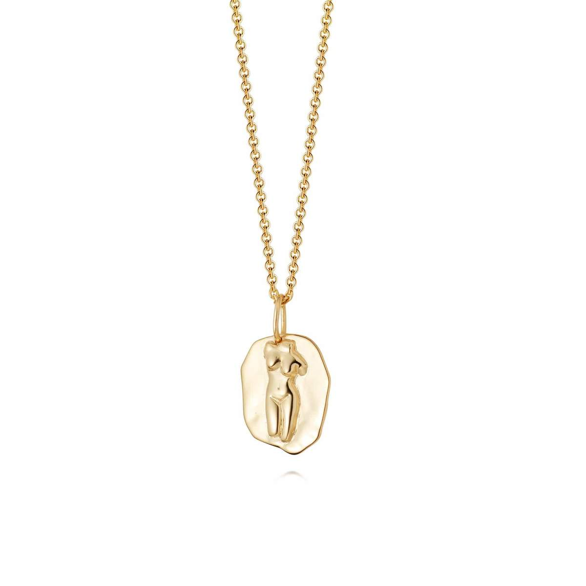 APHRODITE NECKLACE - 18CT GOLD PLATE