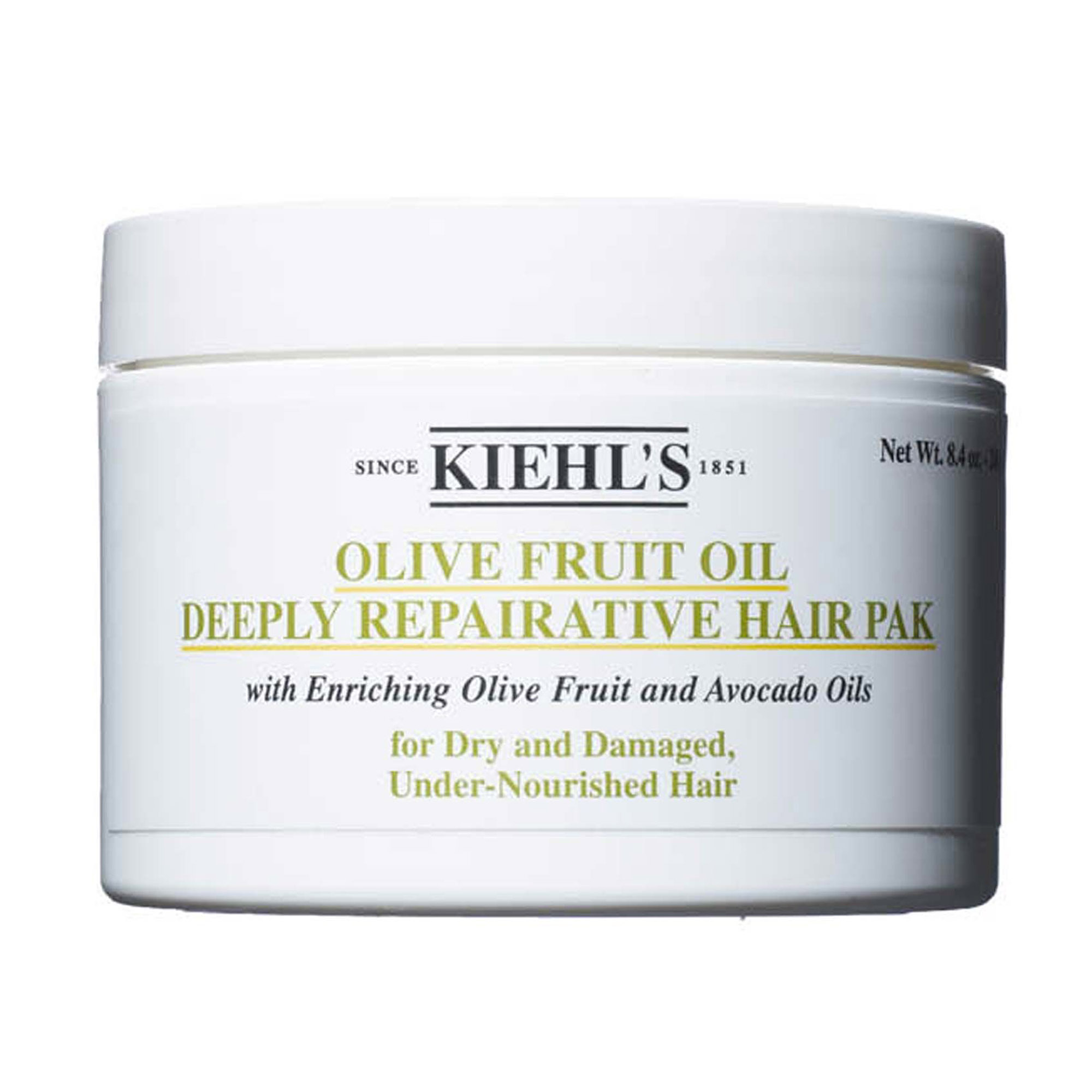 OLIVE FRUIT OIL DEEPLY REPAIRATIVE HAIR PAK 250ML