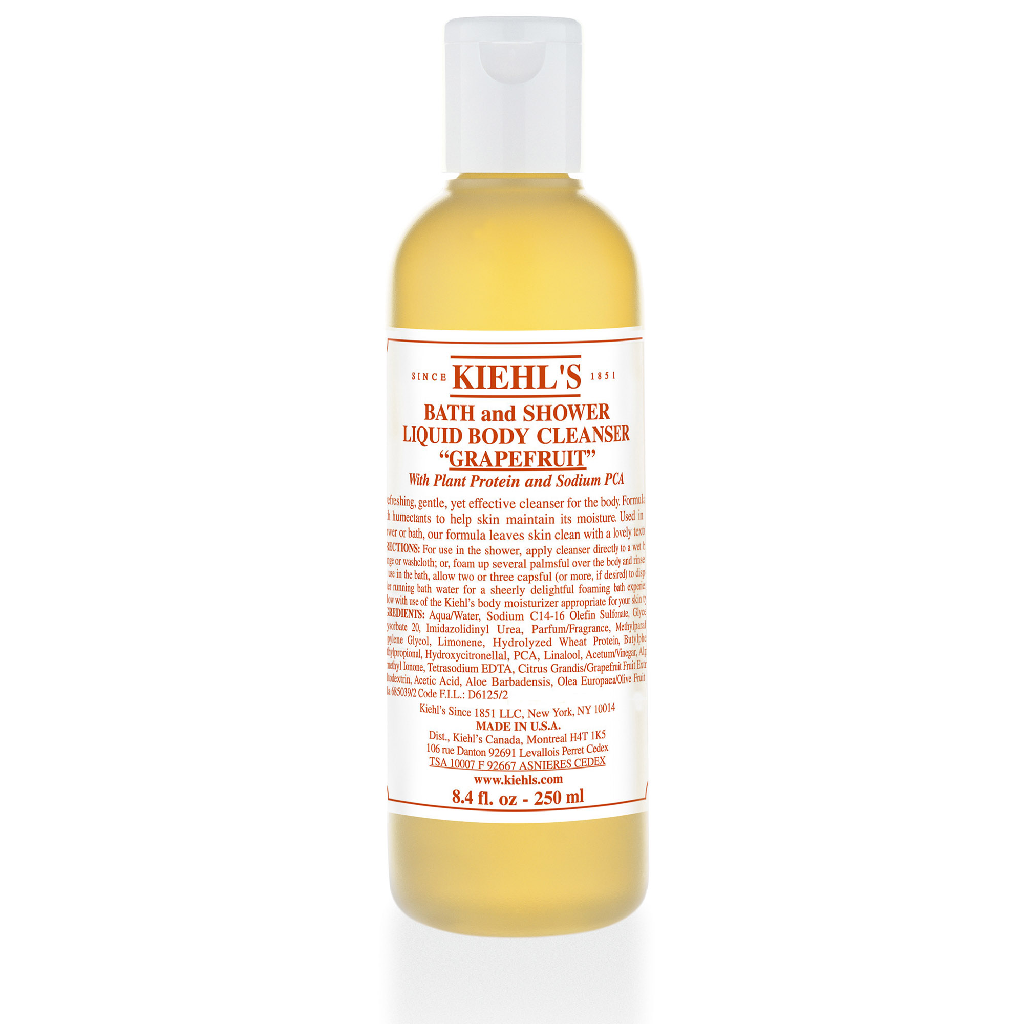 BATH AND SHOWER LIQUID BODY CLEANSER GRAPEFRUIT 500 ML