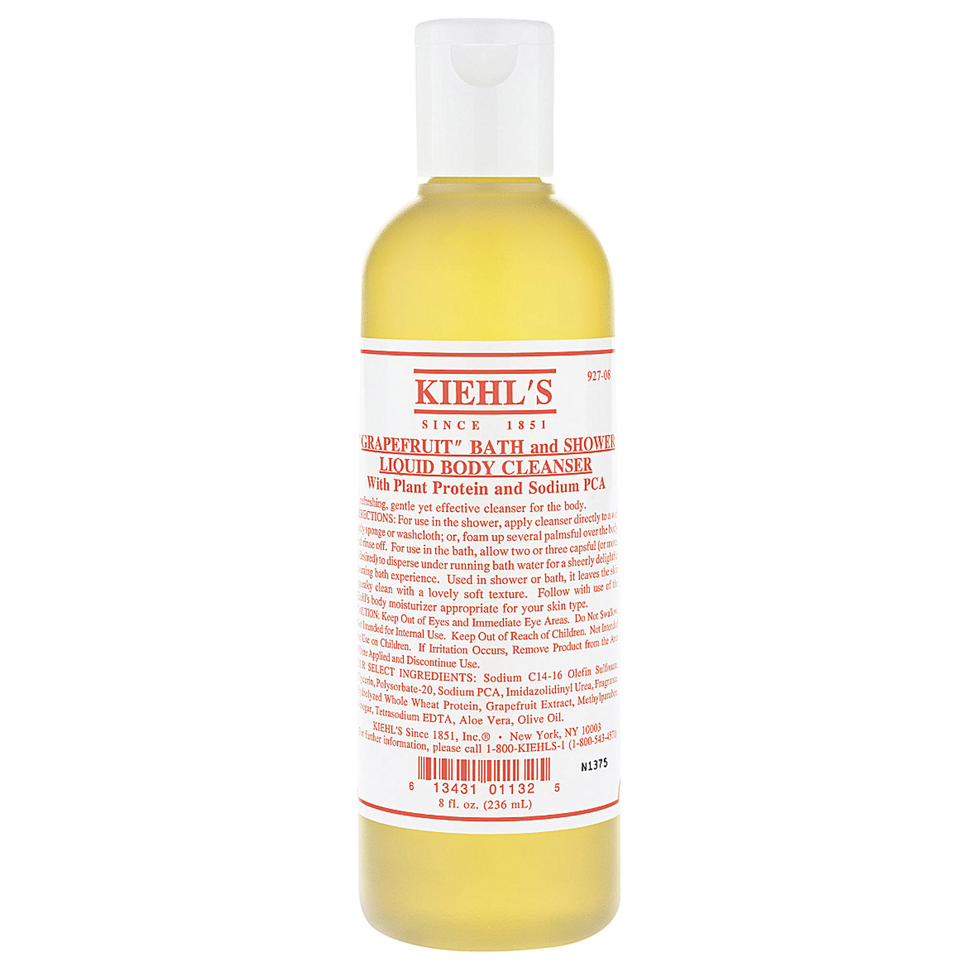 BATH AND SHOWER LIQUID BODY CLEANSER GRAPEFRUIT 250ML