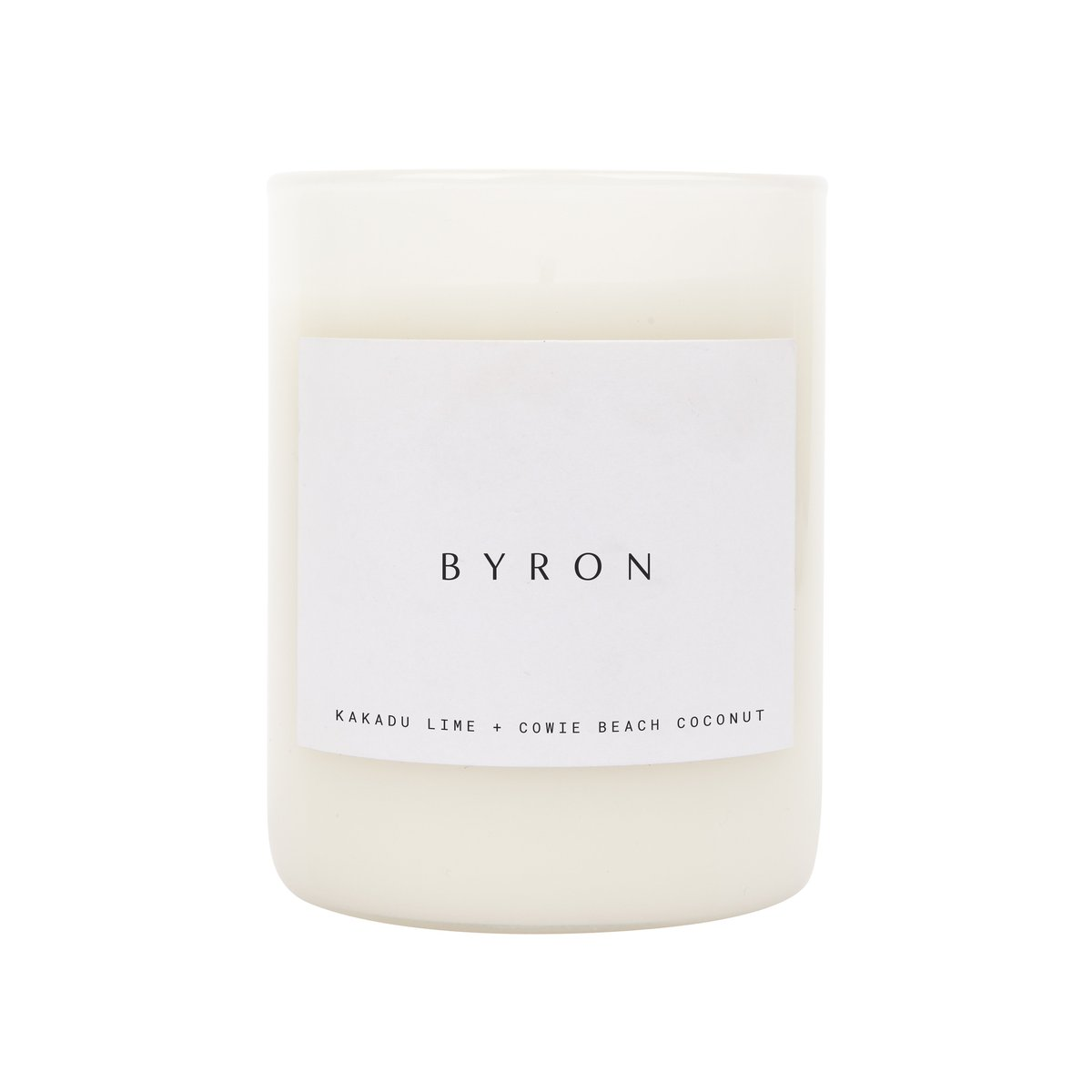SCENTED CANDLE - BYRON
