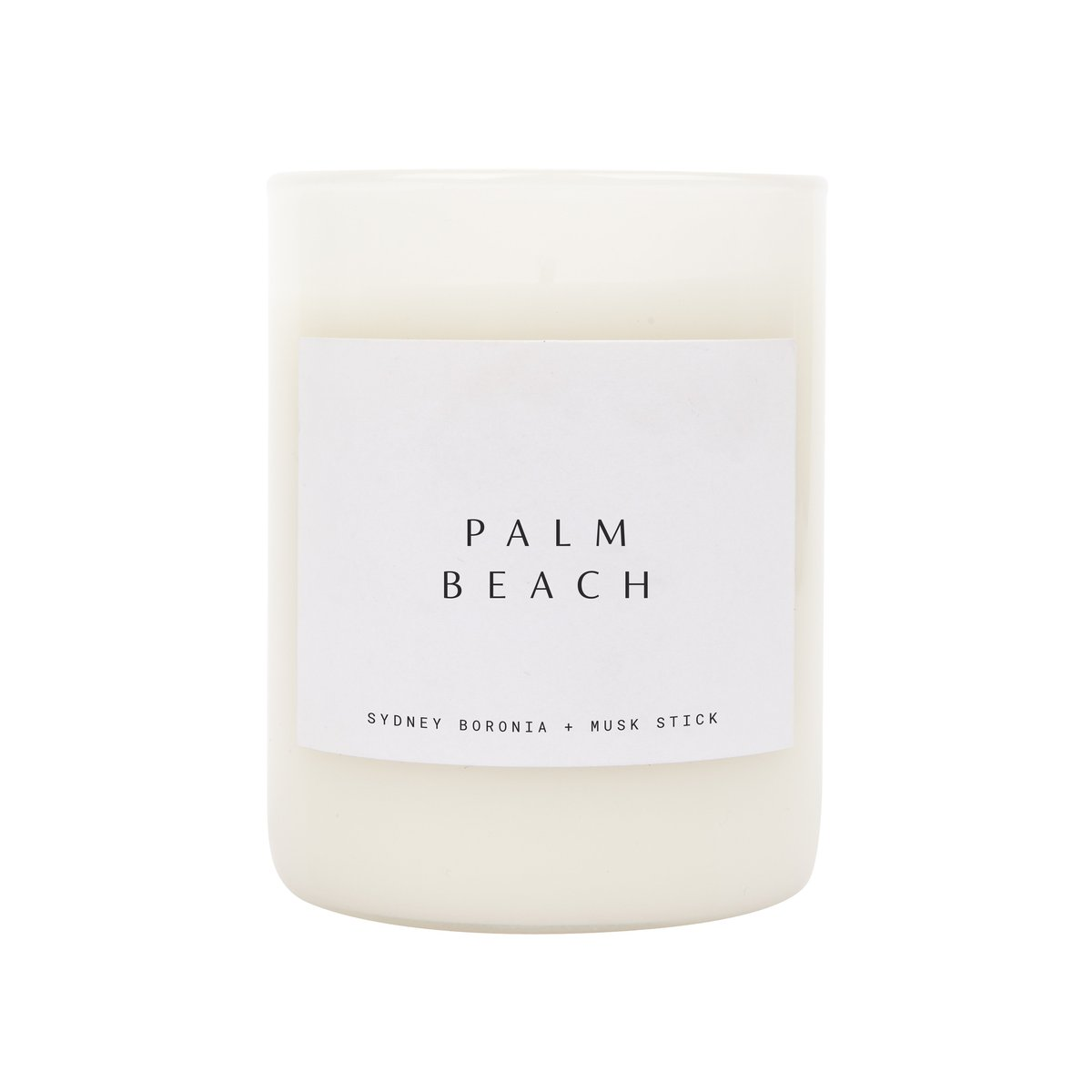 SCENTED CANDLE - PALM BEACH
