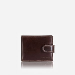 BIFOLD LEATHER WALLET - COFFEE