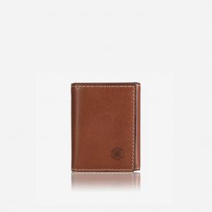 TRI FOLD CARD HOLDER - CLAY