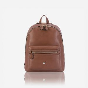 CLASSIC LEATHER BACKPACK - NUT