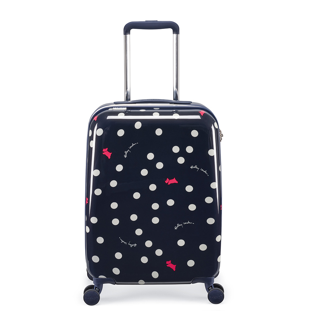 DOG DOT SMALL SUITCASE - INK