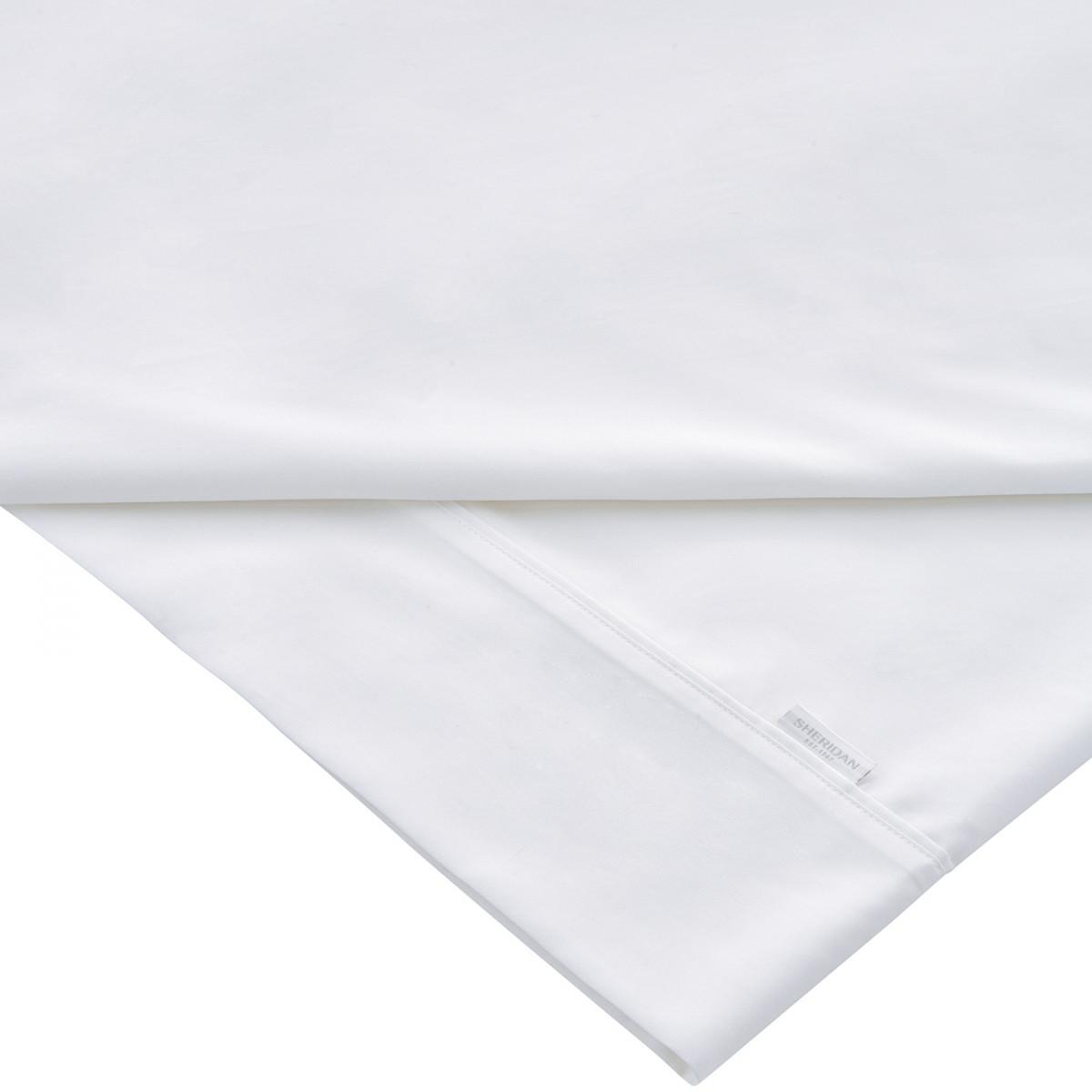 TENCEL FLAT SHEET KING - WHITE