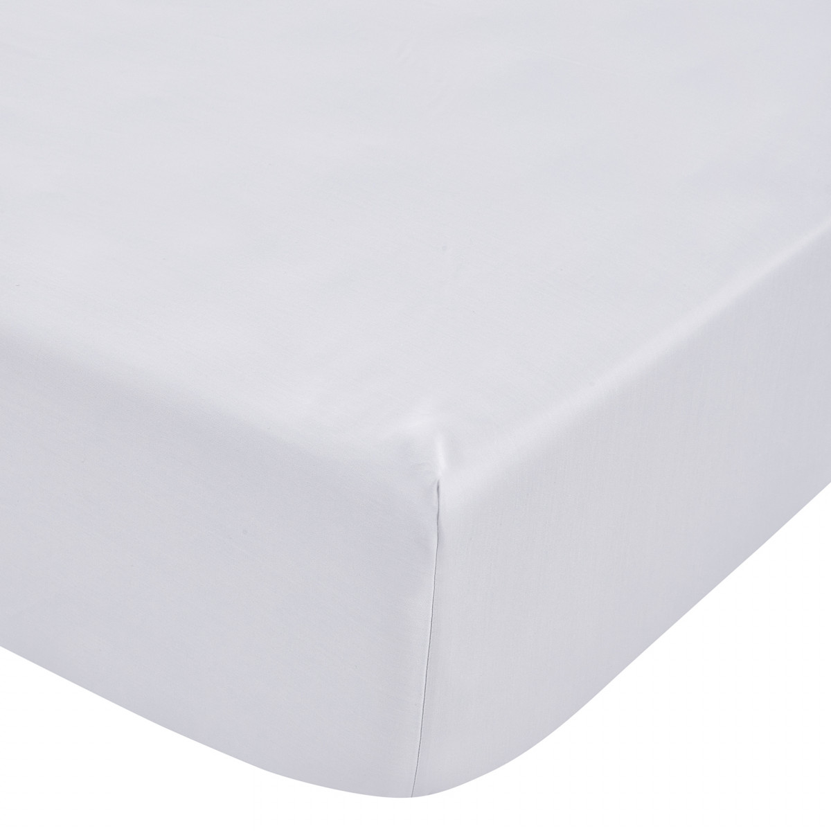 TENCEL FITTED SHEET DOUBLE - DOVE