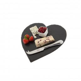HEART SHAPED CHEESEBOARD LGE