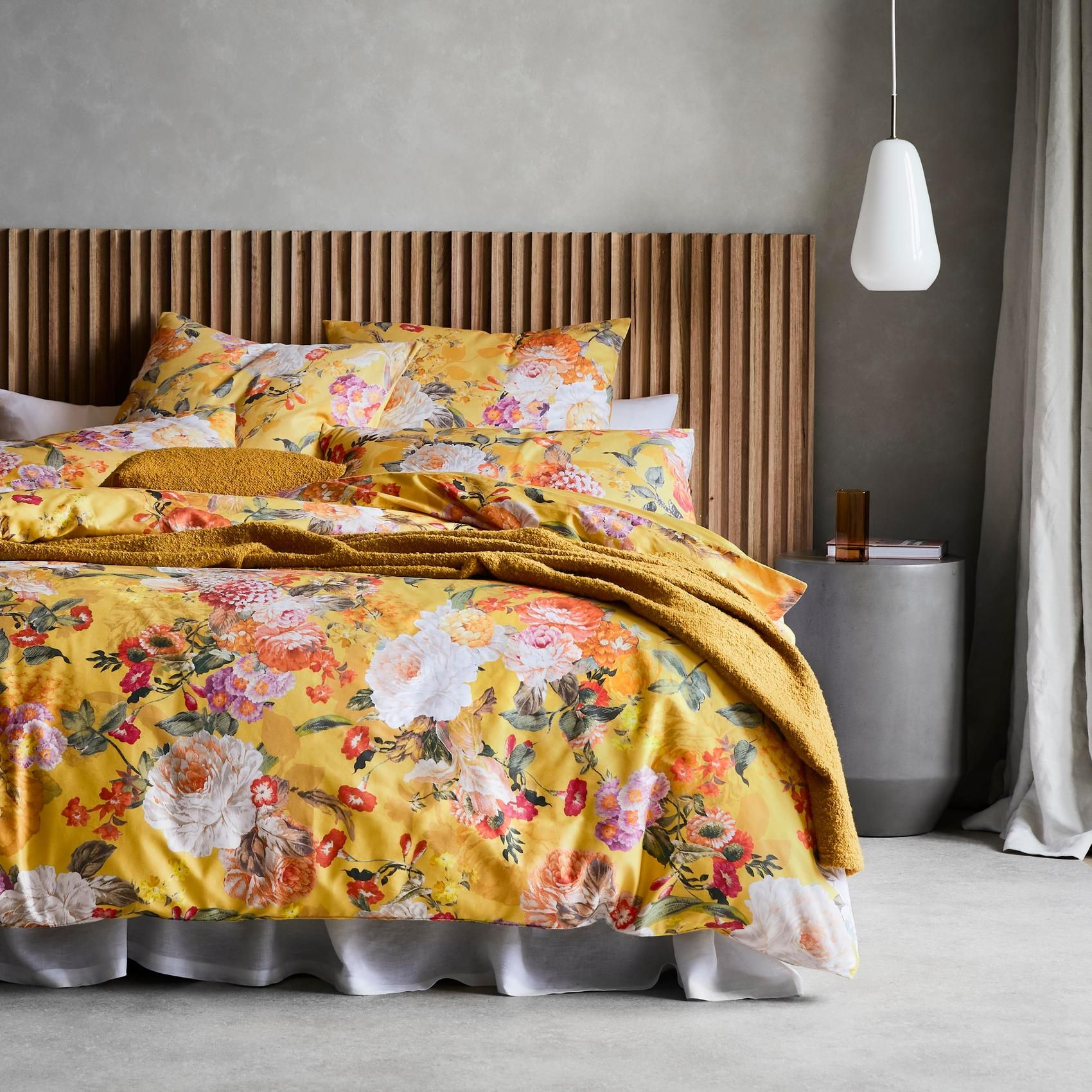 SILVANA STANDARD QUILT COVER SET - DOUBLE