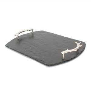 ANTLER SERVE TRAY MED