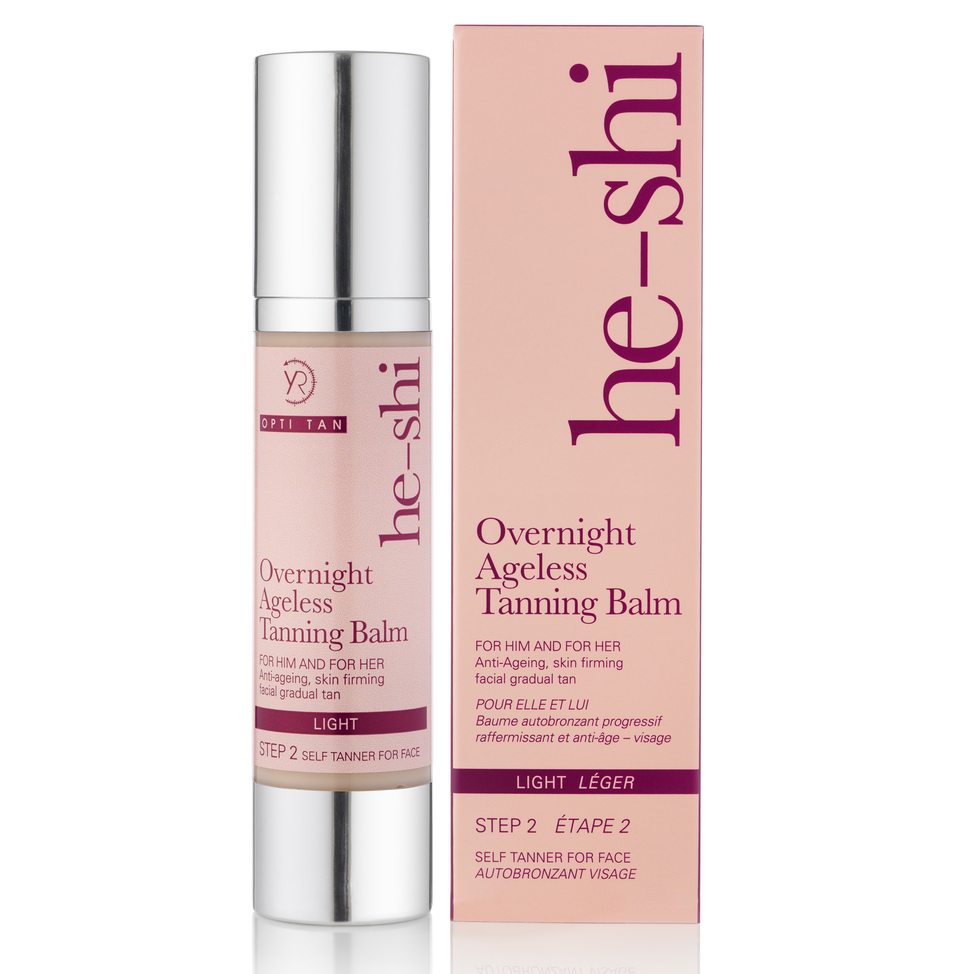 He-Shi Overnight Ageless Tanning Balm - Step 2. 50ml